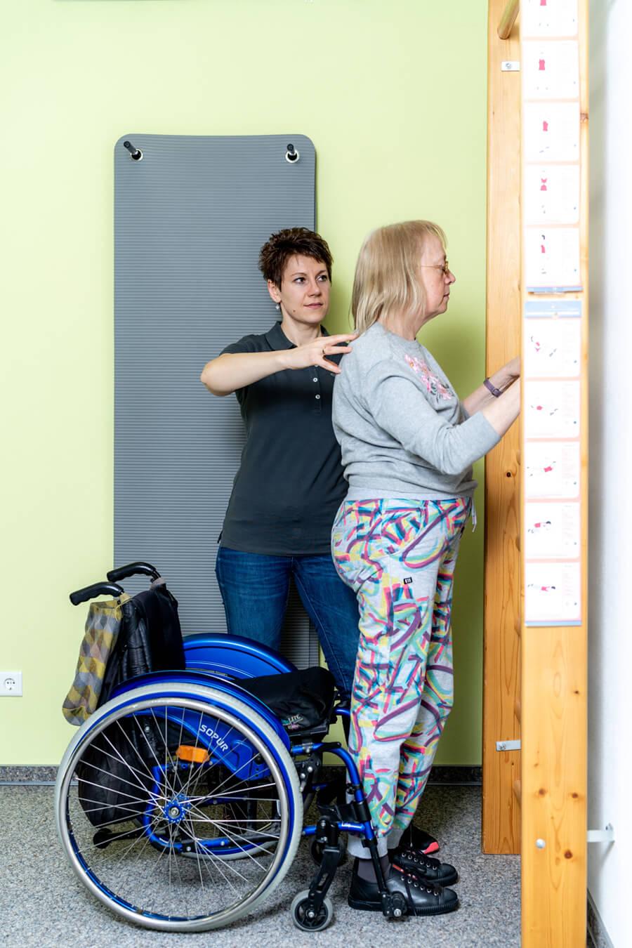Physiotherapie Schorndorf - Oussama Kabbara - Behandlung in unserer Praxis