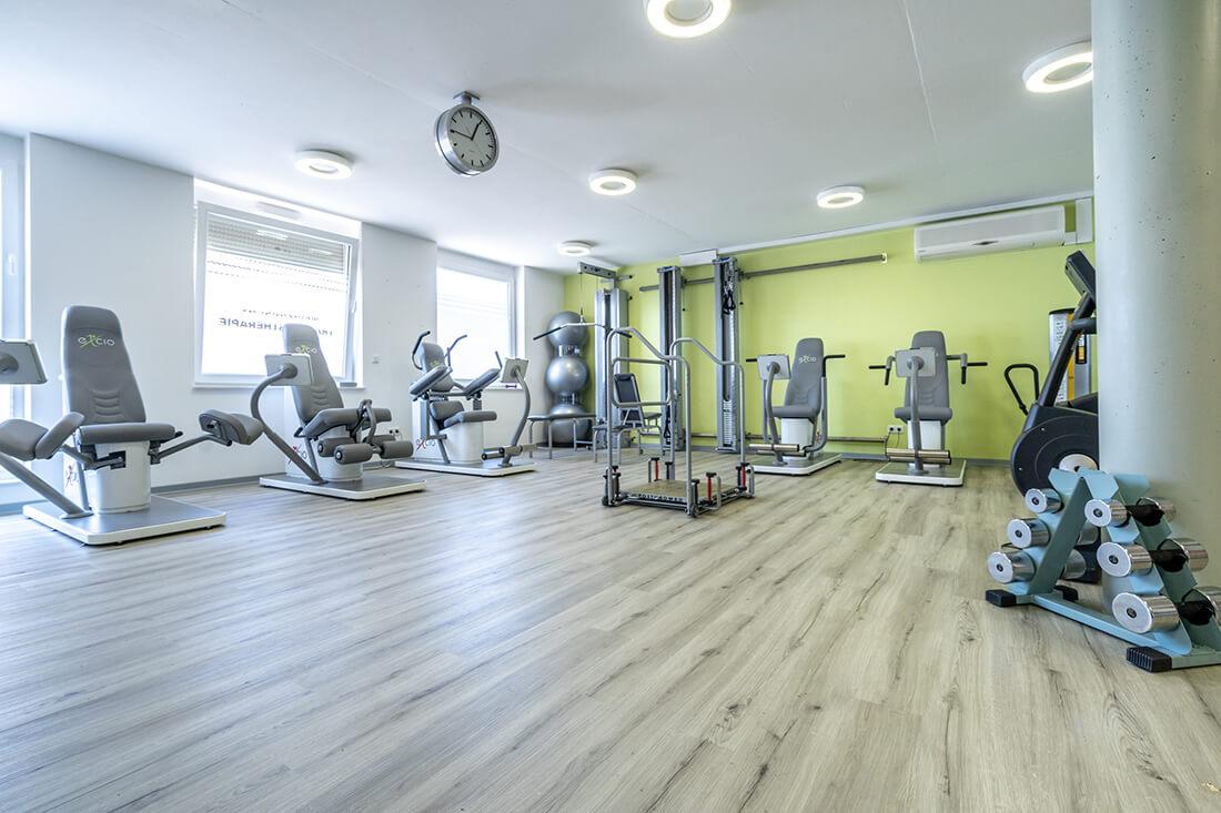 Physiotherapie Schorndorf - Oussama Kabbara - der Gerätepark unserer Praxis